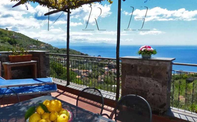 Front terrace - STELLA - 2 Bedrooms - Sant'Agata - Massa Lubrense - Sant'Agata sui Due Golfi - rentals