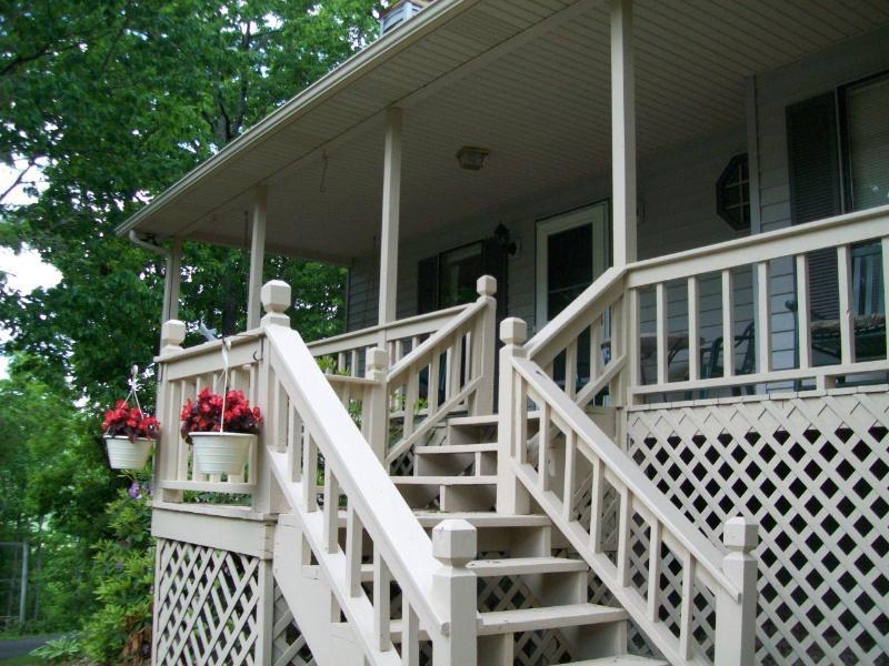 The Lodge@Helton Falls across fm Vogel State Park - Image 1 - Blairsville - rentals