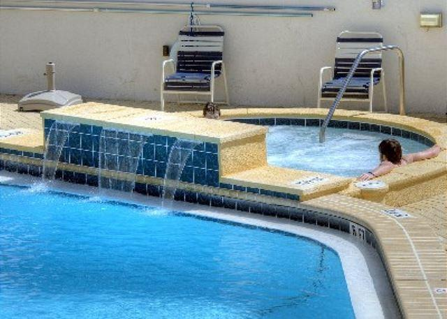 "Seasonally Heated Pool at Beachside One and New Hot Tub - Stay at ""Pineapple Paradise"" for Spring Break.  2-bedroom condo; Beach Front! - Sandestin - rentals"