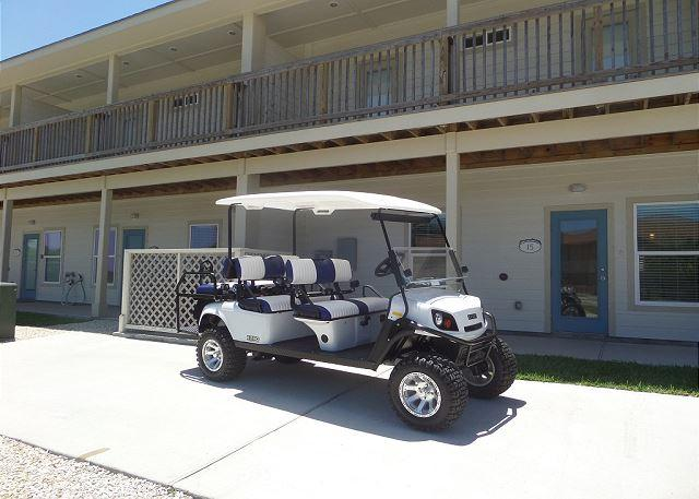 Welcome to A Wave From it All - A Wave From It All 4 bedroom, 3 bath, pet 25 lbs,*Free golf cart, sleeps 12 - Port Aransas - rentals