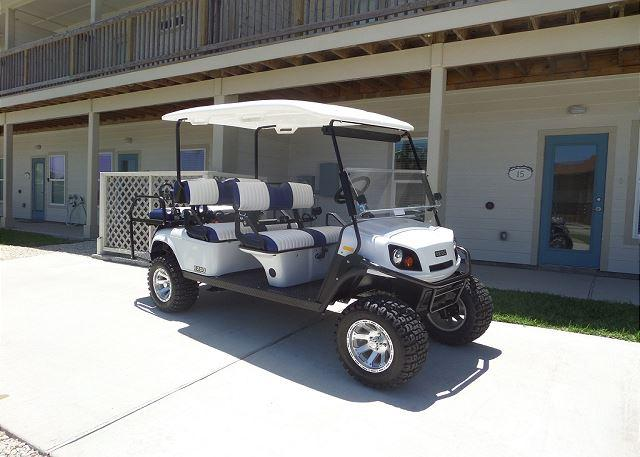 Golf Cart Included with Rental FREE - A Wave From It All 4 bedroom, 3 bath, pet 25 lbs,*Free golf cart, sleeps 12 - Port Aransas - rentals