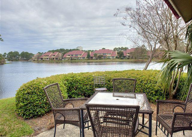 View of the lake at Beachwalk - 20% OFF  first week in August. Recently had upgrades. Free Shuttle. - Sandestin - rentals