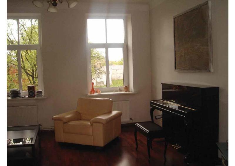 Living Room - 2 Bedrooms at  Center of Riga - Riga - rentals