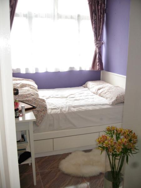 1 double bedroom, purple - Entire Flat or Private Room Rental in Hong Kong - Hong Kong - rentals