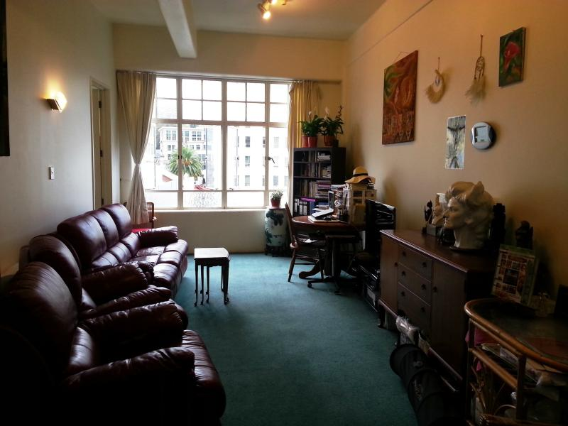 Living room - Double bedroom in the middle of Auckland CBD - Auckland - rentals