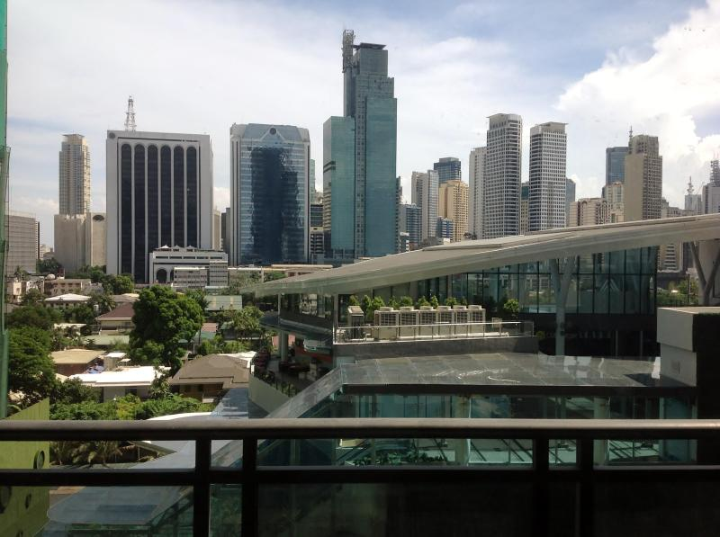 View from the living room - Elegant and Spacious Makati Condo. World Class 2BR - Makati - rentals