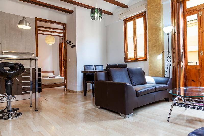Living-room - Apartment En Bou ( City centre) - Valencia - rentals