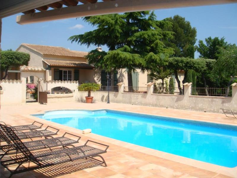 Superb Pet-Friendly Provencal Villa with a Pool, Fireplace, and Balcony - Image 1 - Saint-Didier - rentals
