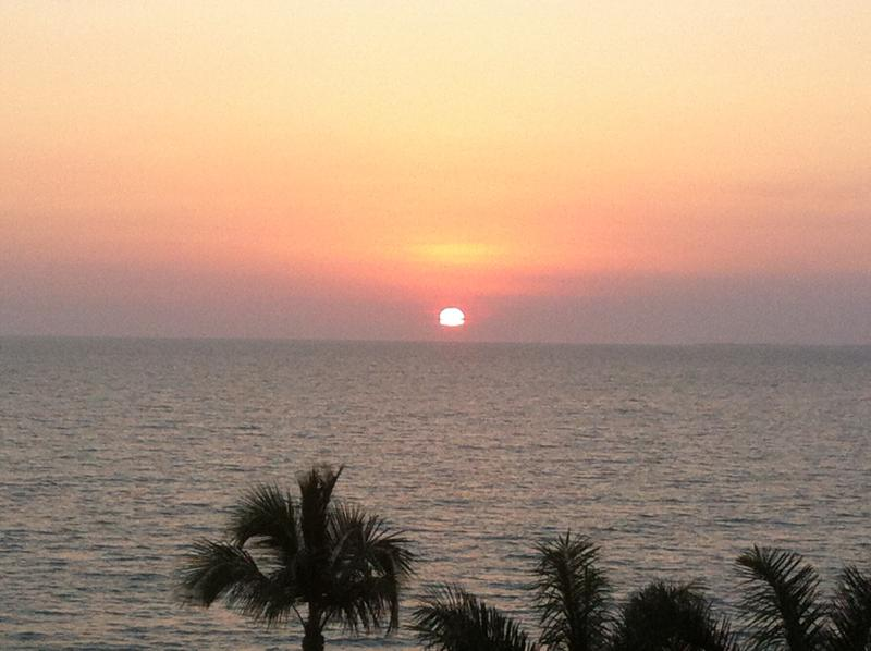 Sunset over the Gulf of Mexico - Beautiful Bonita Beach 2/2 condo - Bonita Springs - rentals