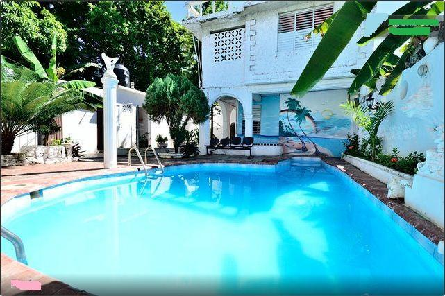 swimming pool - Apt #10 ex60.  King size bed a/c - Boca Chica - rentals
