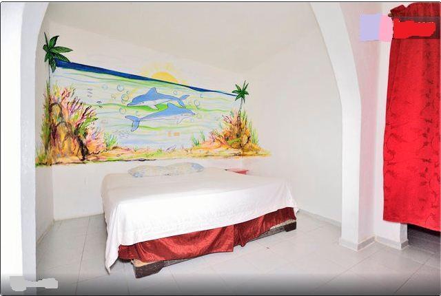 Bedroom - Apt #10 ex60.  King size bed a/c - Boca Chica - rentals