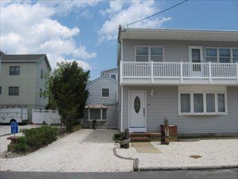 Street view of home showing included apt - Holland 122454 - Ship Bottom - rentals