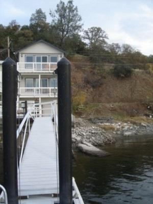 House - Clearlake Lakefront Vacation Rental dock & beach - Lake County - rentals