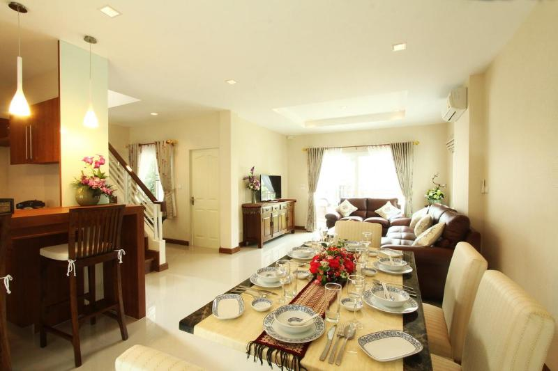 "Beautifully Furnished Interior - ""Affordable Luxury"" New Detached 4 Bedroom Villa - Chiang Mai - rentals"