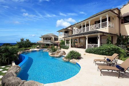 Colonial style Westerings villa on 13th hole, with games room, infinity pool & resort access - Image 1 - Lascelles Hill - rentals