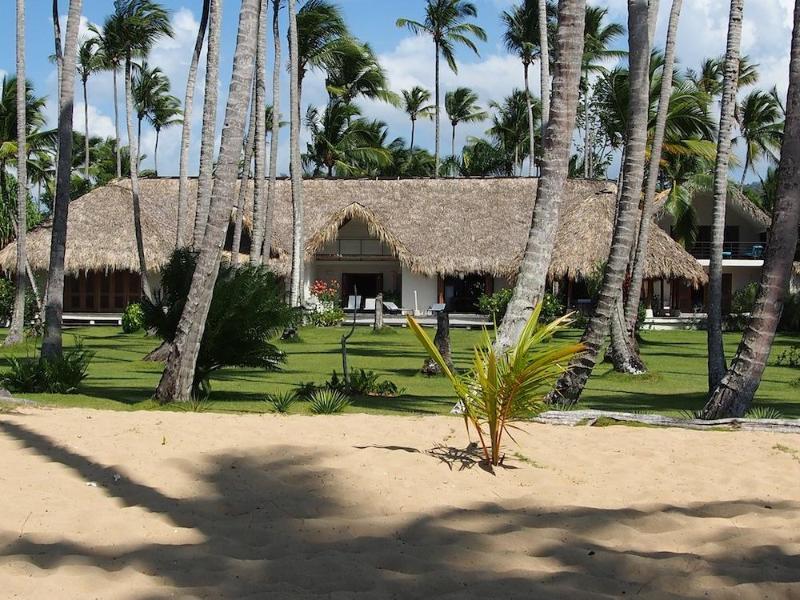 Villa vue de la plage - Grande villa de luxe les pieds dans l'eau à Las Terrenas - playa Coson - Constanza - rentals