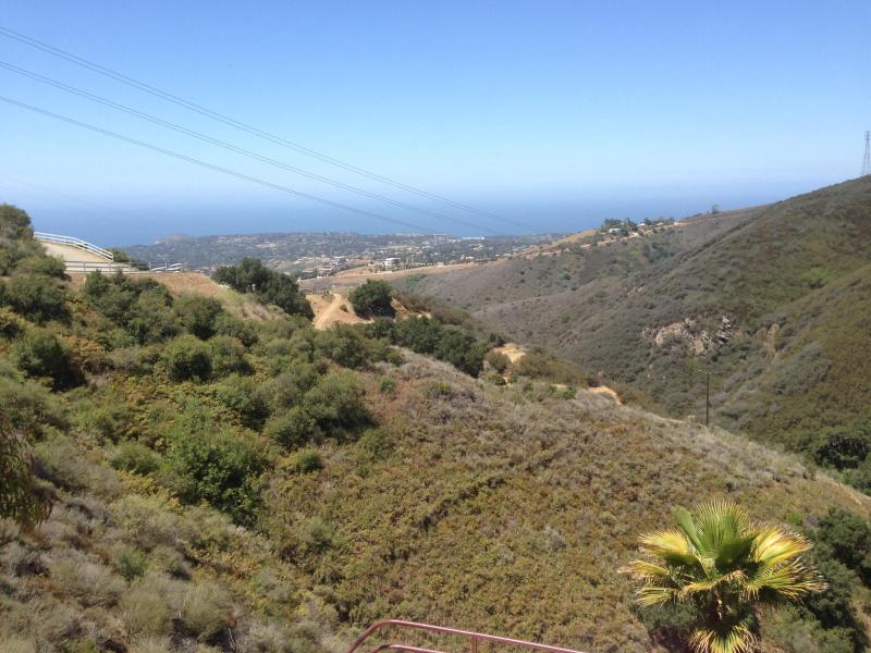 daytime view from patio and balcony - Ocean View Condo in Heart of Malibu - Malibu - rentals