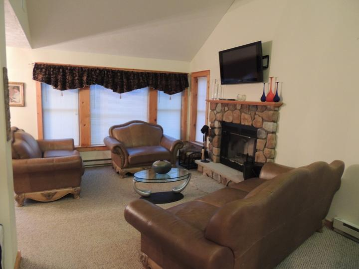 Living Room with WiFi - Ski Camelback 4 Bedrooms/3 Full Baths/Free Wifi - Tannersville - rentals