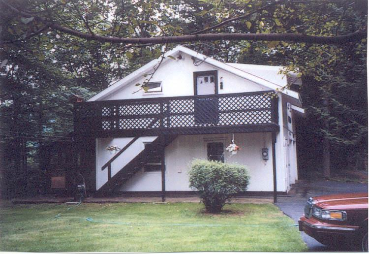 Carriage House from the Side - Carriage House in Beautiful Lake Luzerne - Lake Luzerne - rentals