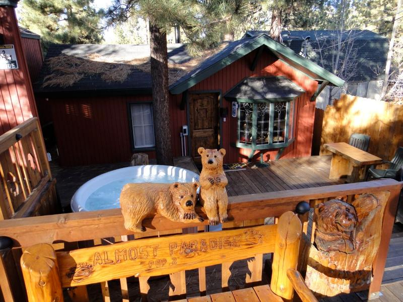 Almost Paradise - Almost Paradise-The PERFECT Cozy Romantic Getaway! - City of Big Bear Lake - rentals