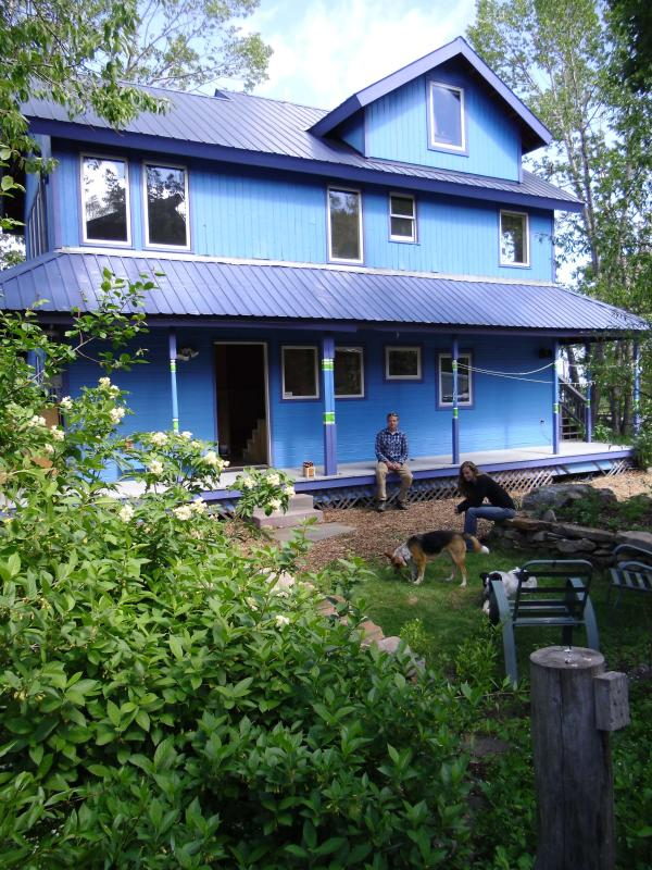 side of house - Best Location in Crested Butte, Near it All! - Crested Butte - rentals