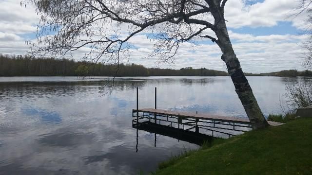View from Dock - Muskie Hut - Breezy Bay Hideaway - Radisson - rentals