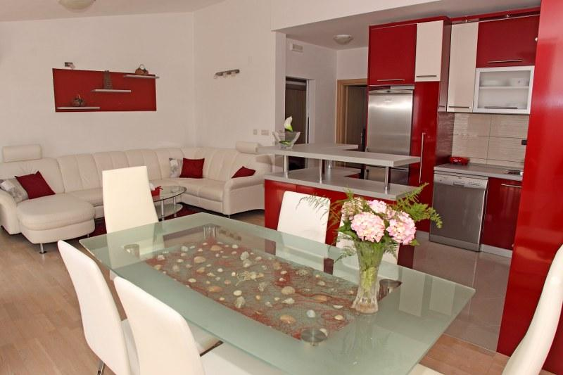 Kitchen and dining room - Red Luxury Apartment - Hvar - rentals