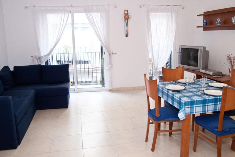 Living room - ZENTRAL Comfortable well located apartment - Sitges - rentals