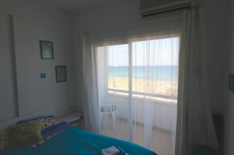 enjoy sea from bed - Seaviewcyprus-Beachfront apartment in Larnaca! - Larnaca District - rentals