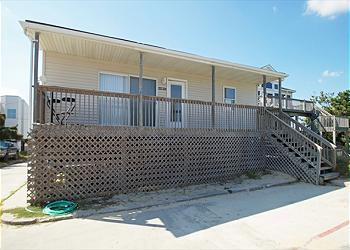 Exterior of house - Beach House 3br 1ba 65 steps from the beach - Nags Head - rentals