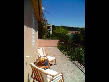 A Dana(4+2): terrace - 01714VLUK A Dana(4+2) - Cove Zubaca (Vela Luka) - Vela Luka - rentals