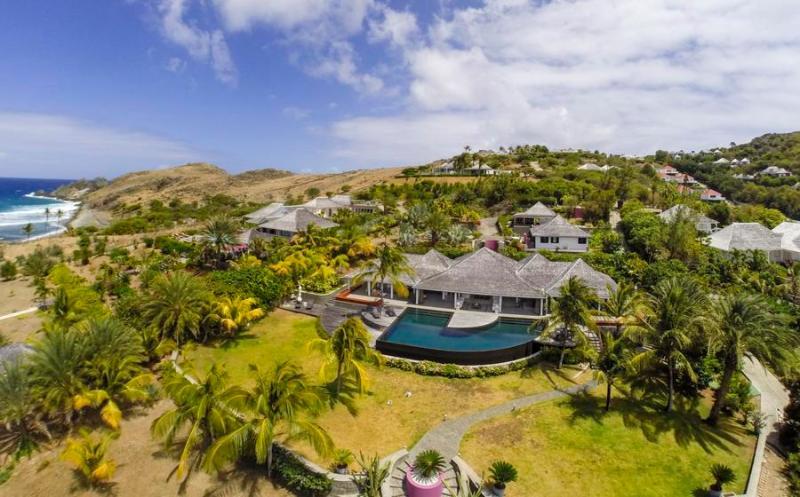 Fully Staffed Oceanfront Estate, one of the finest in St. Barts - Image 1 - Petit Cul de Sac - rentals