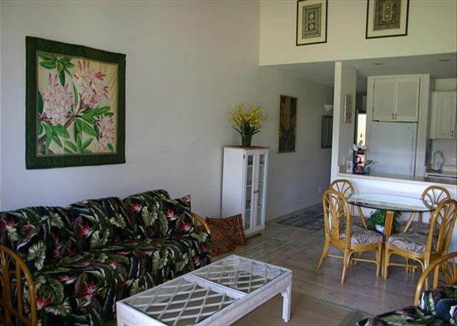 Living Room - Turtle Bay 101 West ** Available for 30 day rentals, please call - Kahuku - rentals