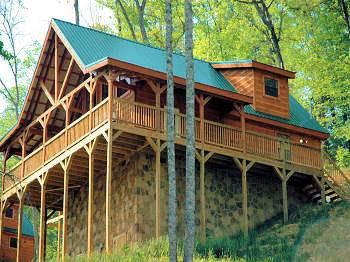 A BEAR'S EYE VIEW 251 - Image 1 - Sevierville - rentals