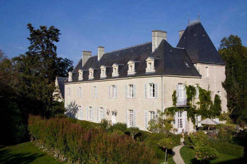 Chateau in the Loire Valley for Rent - Chateau de Valerie with Coach House - Image 1 - Beaumont-en-Veron - rentals