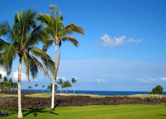 Ocean View - Hawaiian Ocean View Luxury with Gold Member Golf Rates! - Waikoloa - rentals
