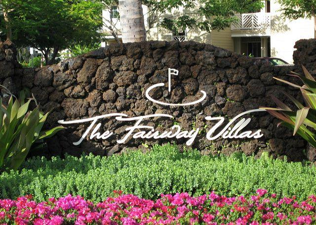 Fairway Villas Entry - Experience Sunrise over Mauna Kea from this Luxury Penthouse Villa - Waikoloa - rentals