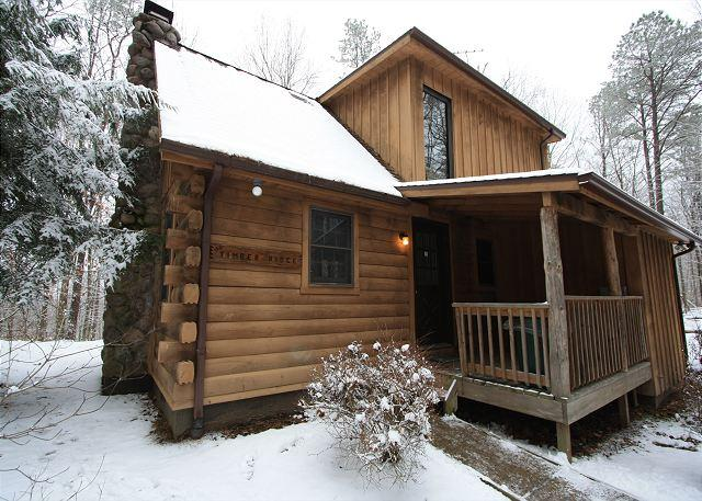 Very Cozy Hocking Hills Log Cabin - Image 1 - South Bloomingville - rentals