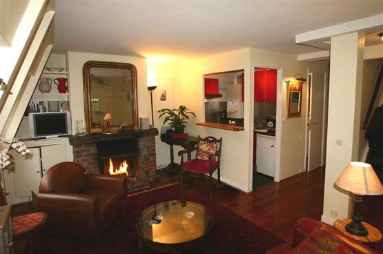 Ile Saint Louie- 2 bedroom Penthouse with Terrace (2271) - Image 1 - Paris - rentals