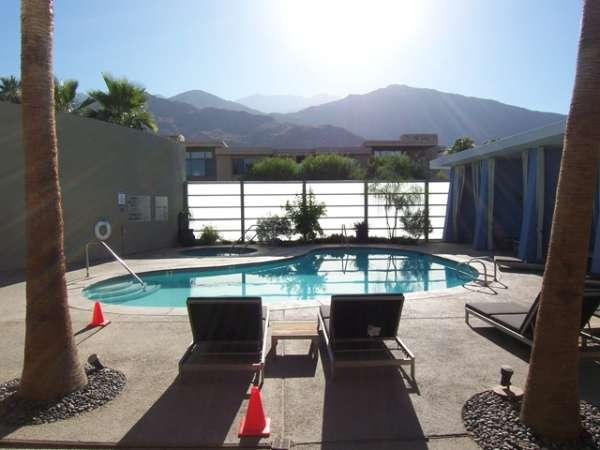 Main Pool Area - Biltmore Colony #202 - Palm Springs - rentals