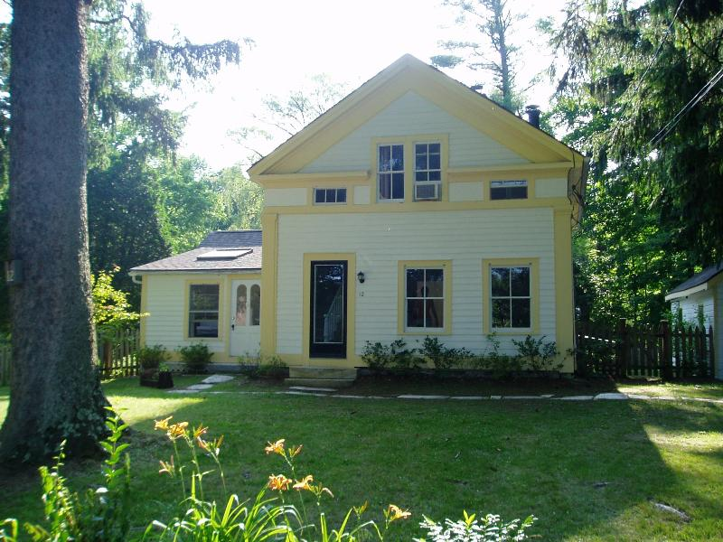 Exterior - Renovated Early 1800s Greek Revival Farmhouse - Stockbridge - rentals