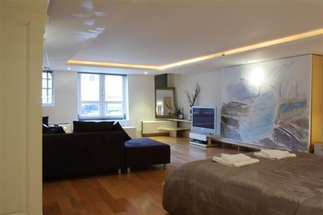Living Room Prince Canal Studio Apartment Amsterdam - Prince Canal Studio - Amsterdam - rentals