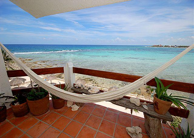 View from the Terrace - La Sirena, Unit #13 - Akumal - rentals