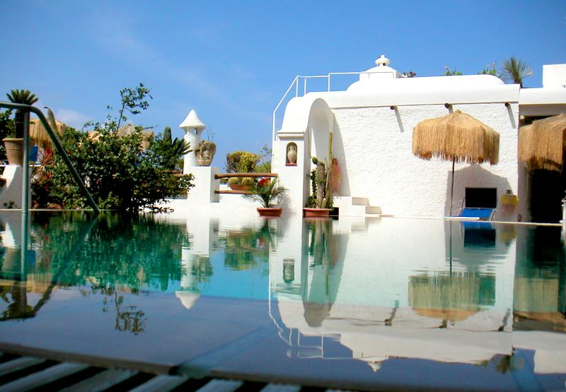 Pool on Ischia island by the Amalfi coast - B&B double room Villa in a Botanical Garden Ischia - Ischia - rentals
