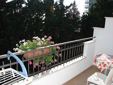 A2(2+2): terrace view - 02613MAKA A2(2+2) - Makarska - Makarska - rentals