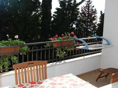 C2(2+2): terrace - 02613MAKA C2(2+2) - Makarska - Makarska - rentals