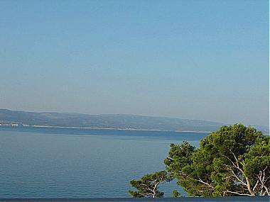 A1(3): balcony view - 00413BREL A1(3) - Brela - Brela - rentals