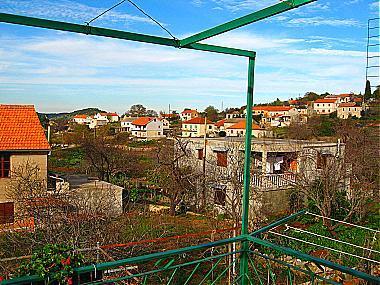 1A2(2+1): terrace view - 00121LUKA  1A2(2+1) - Luka - Luka - rentals