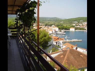 A1(6): balcony - 01403JELS  A1(6) - Jelsa - Jelsa - rentals