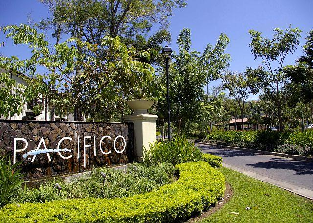 Entrance of Pacifico - Pacifico L508 - Beautiful Second Floor Condo Overlooking Gardens and Pool - Playas del Coco - rentals